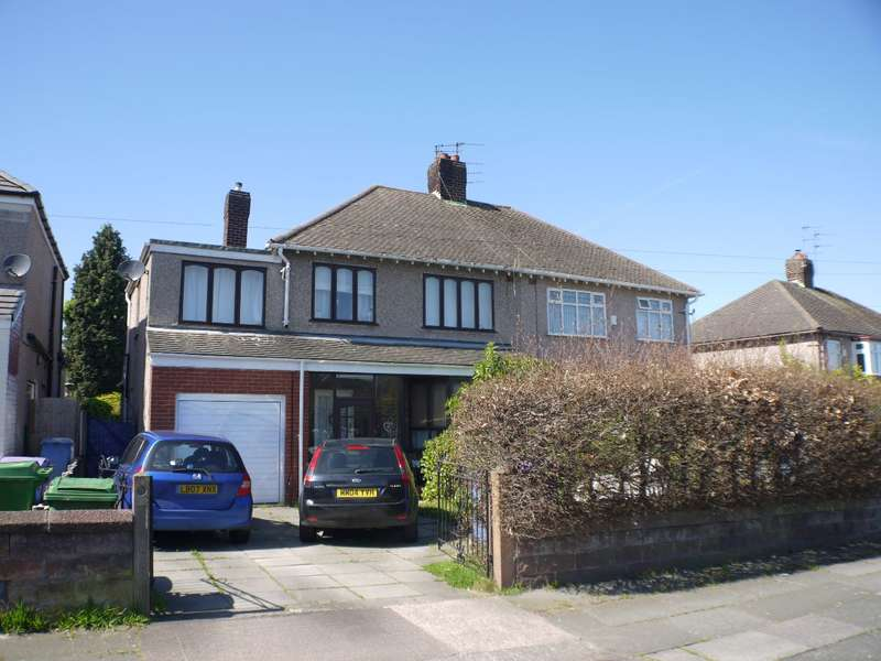 4 Bedrooms Semi Detached House for rent in Kings Drive, Woolton, Liverpool, L25