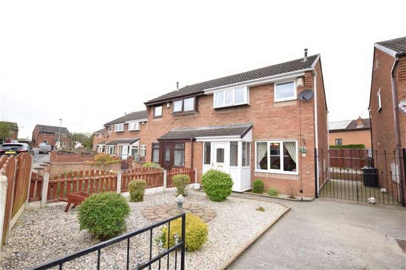 3 Bedrooms Semi Detached House for sale in Wrelton Close, Royston, Barnsley, S71