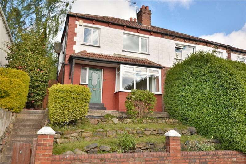 3 Bedrooms Semi Detached House for sale in Roundhay Avenue, Leeds