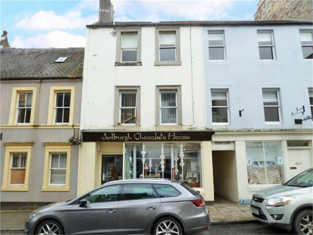 1 Bedroom Flat for sale in High Street, Jedburgh, Scottish Borders