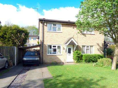 2 Bedrooms Semi Detached House for sale in Lexington Green, Stafford, Staffordshire