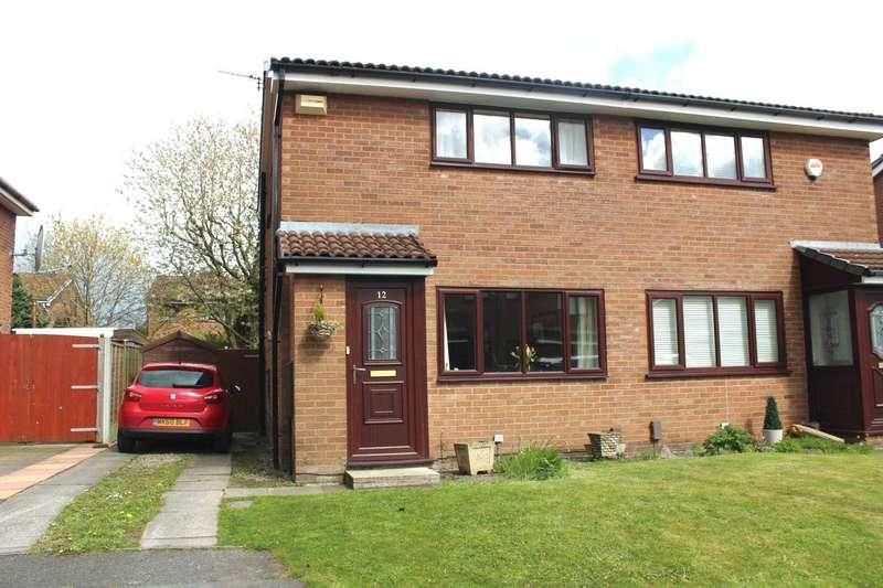 2 Bedrooms Semi Detached House for sale in Stonebridge Close, Lostock
