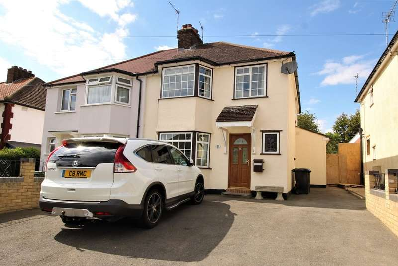 3 Bedrooms Semi Detached House for sale in Corner Hall, Hemel Hempstead