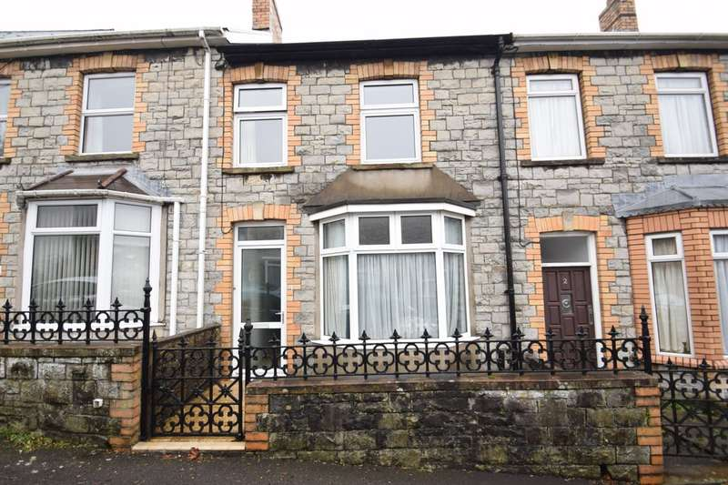 2 Bedrooms Terraced House for sale in 4 Cae Dre Street, Bridgend, Bridgend County Borough, CF31 4AY.