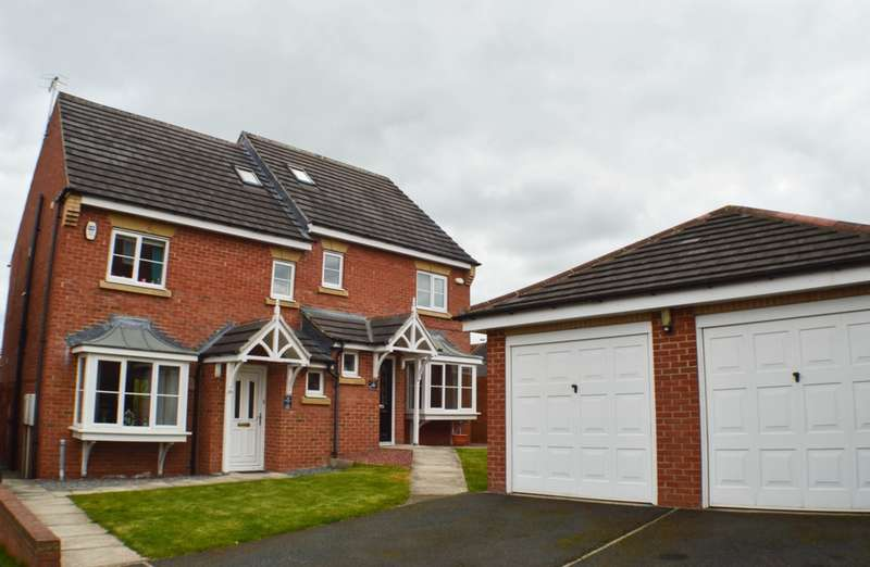 4 Bedrooms House for sale in Farmwell Place, Prudhoe, NE42