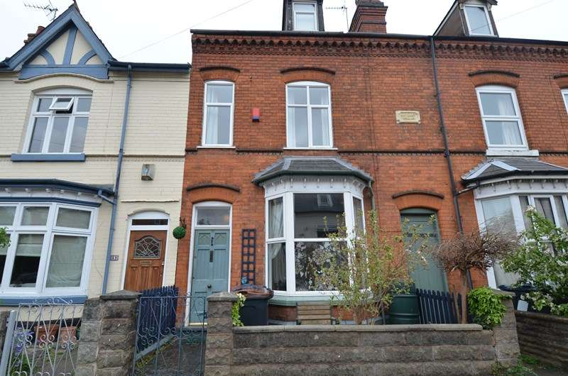 4 Bedrooms Terraced House for sale in Goldsmith Road, Kings Heath, Birmingham