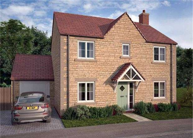 4 Bedrooms Detached House for sale in The Burford, Corsham Rise, Potley Lane, CORSHAM, Wiltshire, SN13 9RX