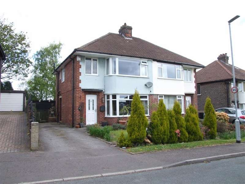 3 Bedrooms Semi Detached House for sale in Green Park Avenue, Skircoat Green, Halifax, HX3 0SR