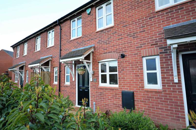 2 Bedrooms Terraced House for sale in Horseshoe Close, Ibstock