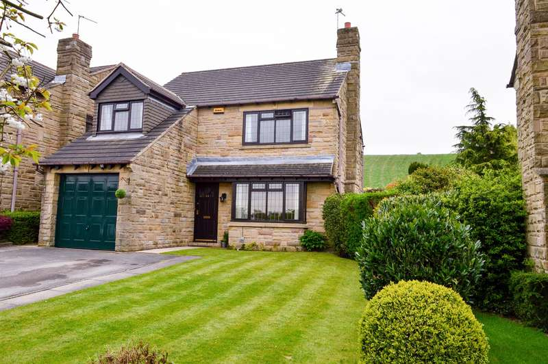 4 Bedrooms Detached House for sale in Epsom Way, Kirkheaton, Huddersfield, HD5 0LE