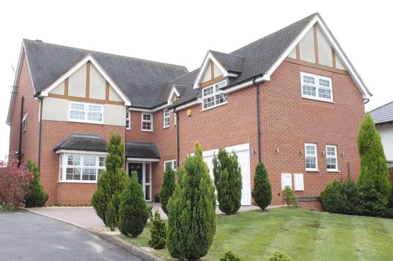 5 Bedrooms Detached House for sale in Westlands, Newcastle under Lyme, Staffordshire, ST5