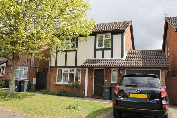 4 Bedrooms Detached House for sale in Hawkfields, Luton, LU2