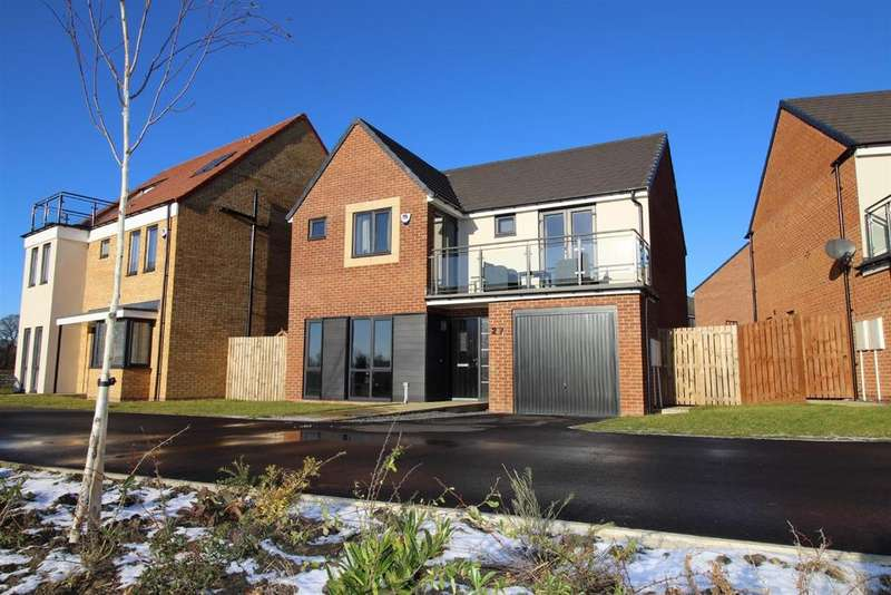 4 Bedrooms Detached House for sale in Sir Bobby Robson Way, Great Park, Newcastle Upon Tyne