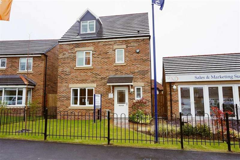 4 Bedrooms Detached House for sale in The Risings, Parkside Meadows, Wallsend, NE28
