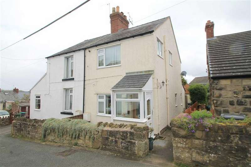 2 Bedrooms Semi Detached House for sale in Griffiths Road, Coedpoeth, Wrexham
