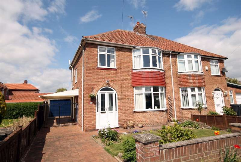 3 Bedrooms Semi Detached House for sale in Rawcliffe Croft, Rawcliffe, York, YO30 5UW