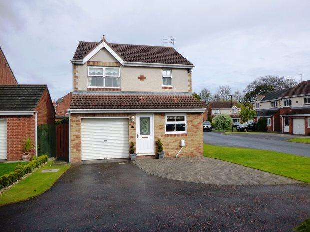3 Bedrooms Detached House for sale in ENGLEMANN WAY, BURDON VALE, SUNDERLAND SOUTH