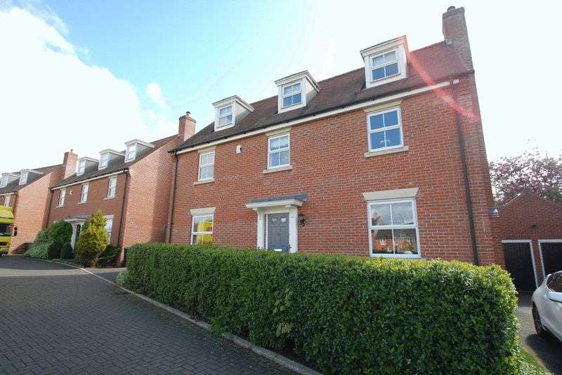 5 Bedrooms Detached House for sale in Marauder Road, Norwich