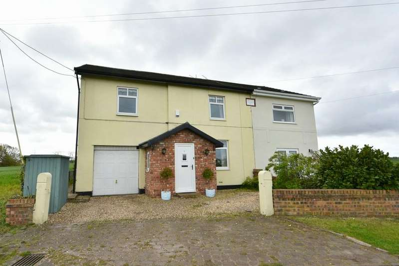 4 Bedrooms Semi Detached House for sale in Moss View Cottages, Moss Lane