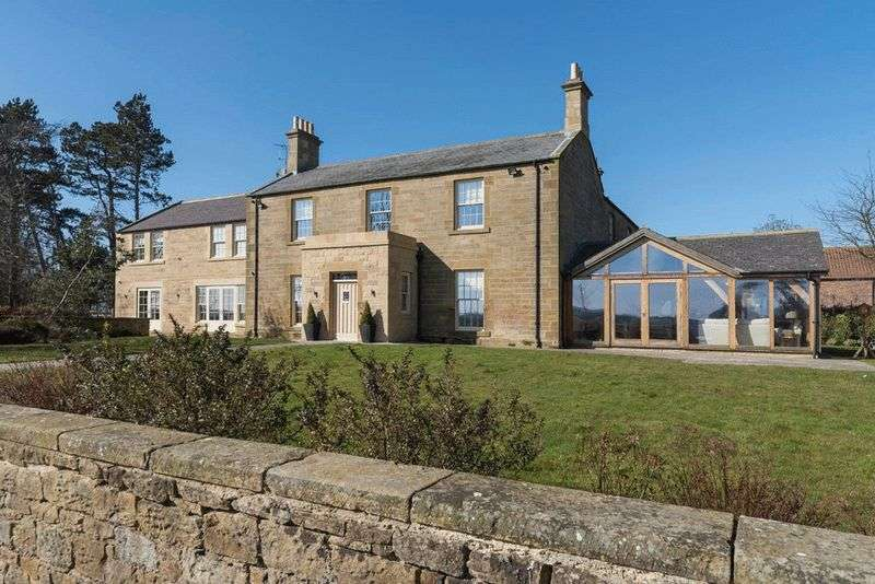 6 Bedrooms Detached House for sale in Ulgham Park Farmhouse, Ulgham, Morpeth