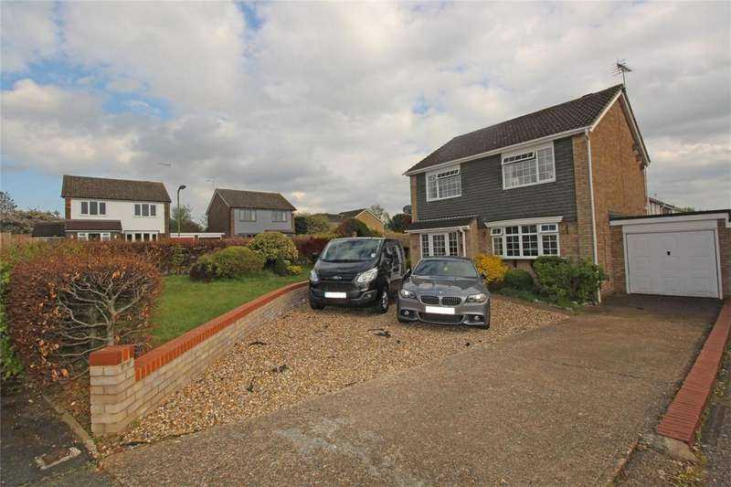 4 Bedrooms Detached House for sale in Trafford Close, Stevenage, Hertfordshire