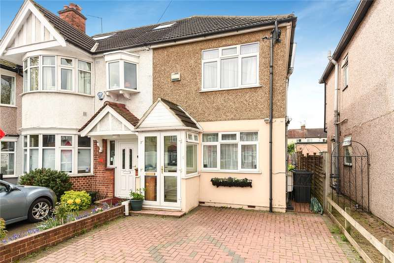 2 Bedrooms End Of Terrace House for sale in Victoria Road, Ruislip, Middlesex, HA4