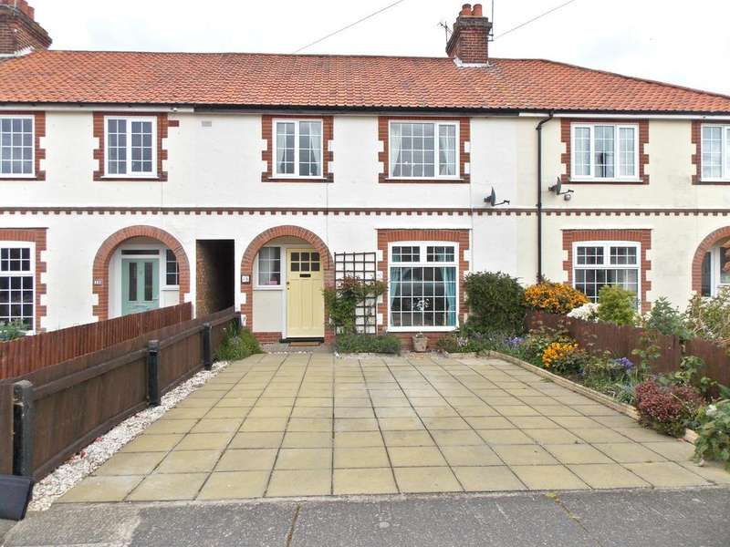 3 Bedrooms Terraced House for sale in Quintons Lane, Felixstowe, Suffolk IP11