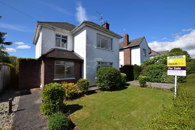 3 Bedrooms Detached House for sale in Lon-Y-Dail , Rhiwbina, Cardiff. CF14 6EA