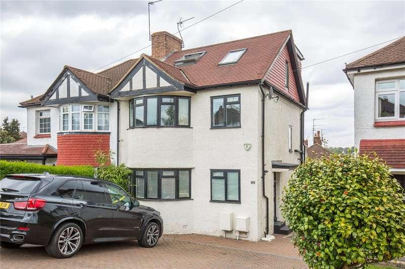 4 Bedrooms Semi Detached House for sale in Gallants Farm Road, East Barnet, Barnet, EN4