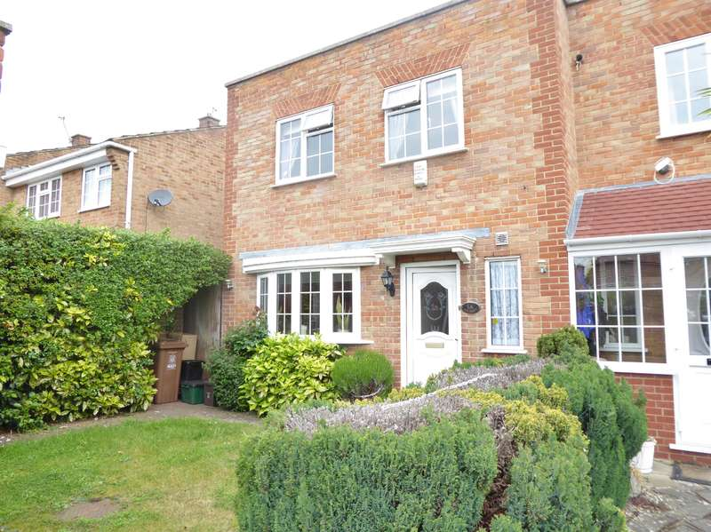 3 Bedrooms Semi Detached House for sale in Brummel Close, Bexleyheath, Kent, DA7 6ES