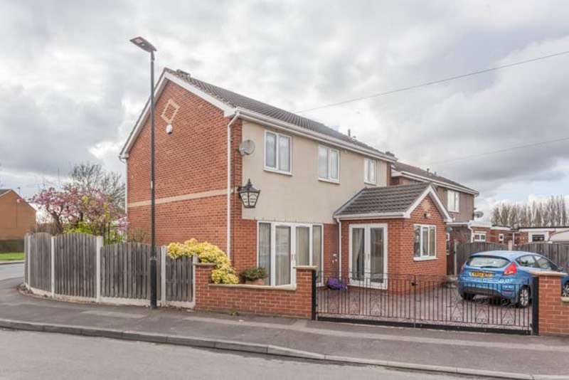 3 Bedrooms Detached House for sale in Skellow Road, Doncaster, South Yorkshire, DN6
