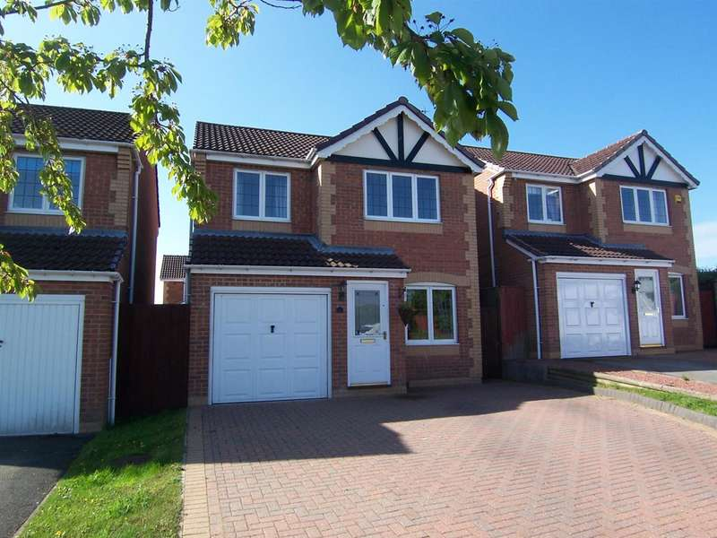 3 Bedrooms Detached House for sale in Peatburn Avenue, Heanor