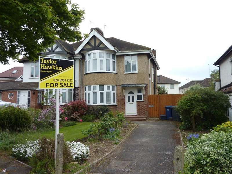 3 Bedrooms Semi Detached House for sale in GIBBS GREEN