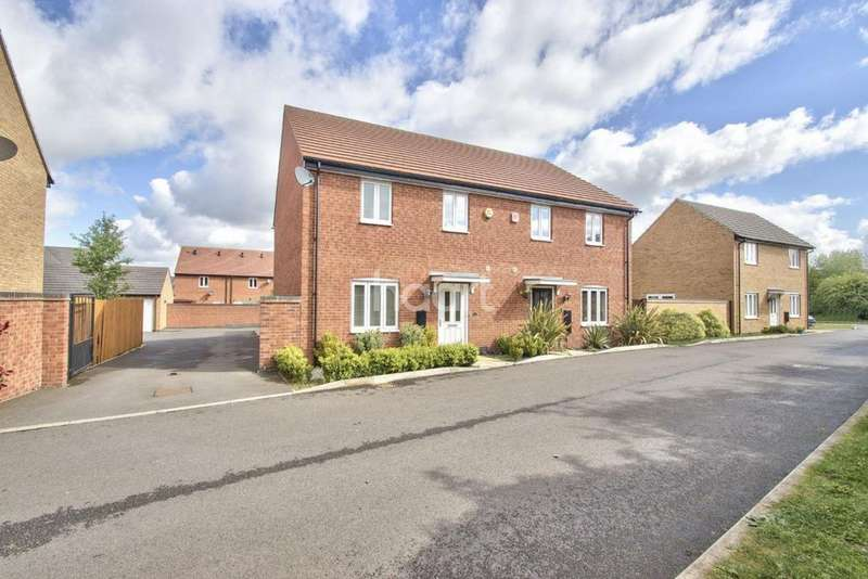 4 Bedrooms Semi Detached House for sale in Cooper Road, Gunthorpe, Peterborough
