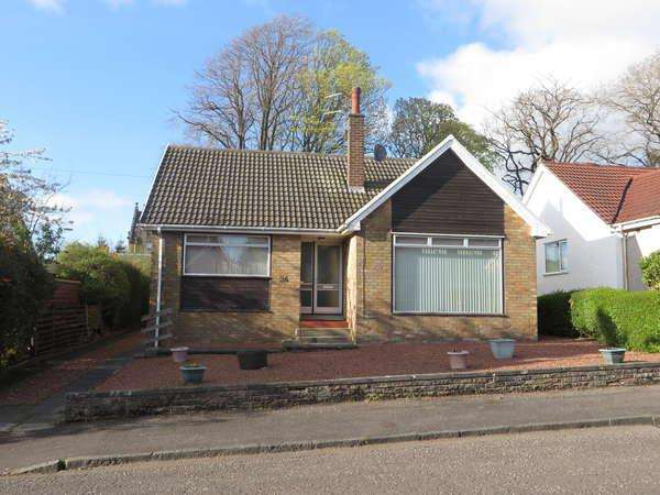 2 Bedrooms Detached Bungalow for sale in 34 Arran Crescent, Beith, KA15 2DU