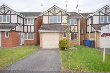 3 Bedrooms Detached House for sale in Taverners Crescent, LITTLEOVER DE23 6XT