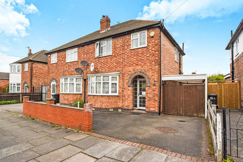 3 Bedrooms Semi Detached House for sale in Baldwin Road, Leicester, LE2