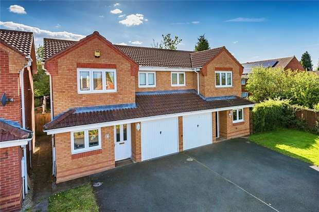 3 Bedrooms Detached House for sale in Cardinals Close, Donnington Wood, Telford, Shropshire