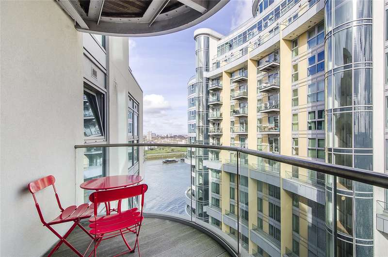 1 Bedroom Flat for sale in Orbis Wharf, Bridges Court Road, London, SW11