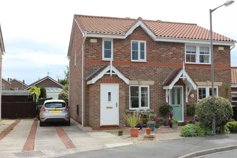 2 Bedrooms Semi Detached House for sale in The Meadows, Riccall, York