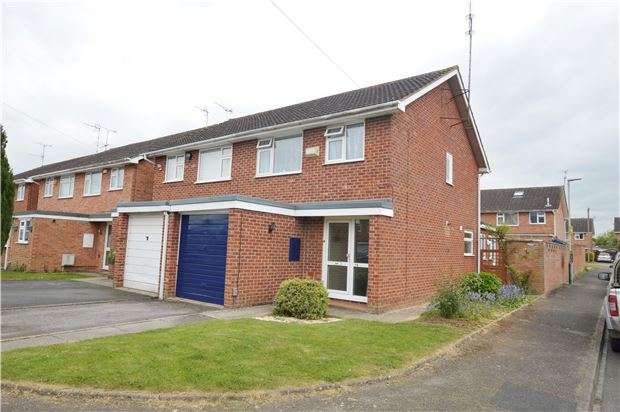 3 Bedrooms Semi Detached House for sale in Springbank Grove, CHELTENHAM, Gloucestershire, GL51 0PQ