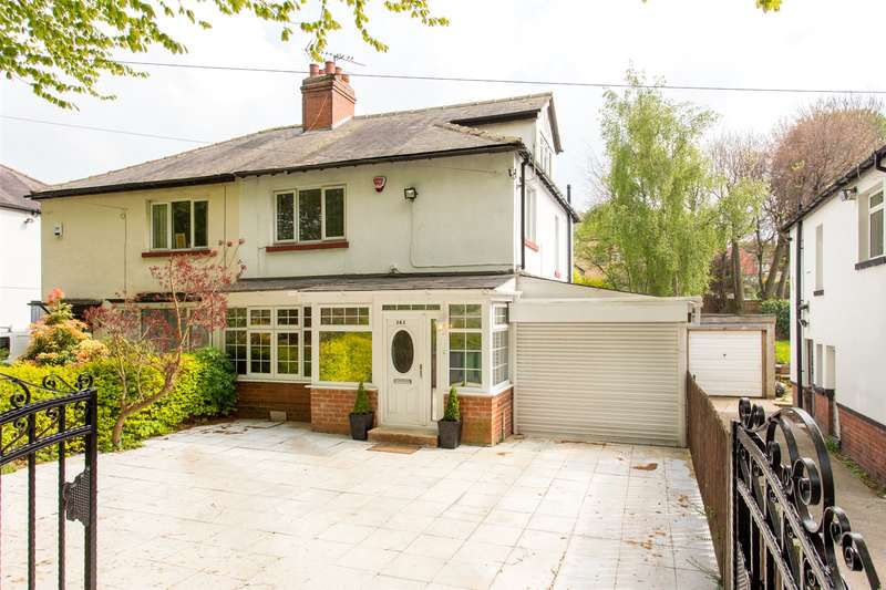 4 Bedrooms Semi Detached House for sale in Stainbeck Road, Chapel Allerton, Leeds, West Yorkshire, LS7