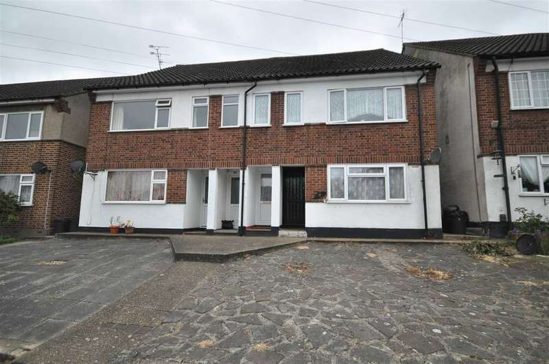 2 Bedrooms Maisonette Flat for sale in Ethelburga Road, Romford
