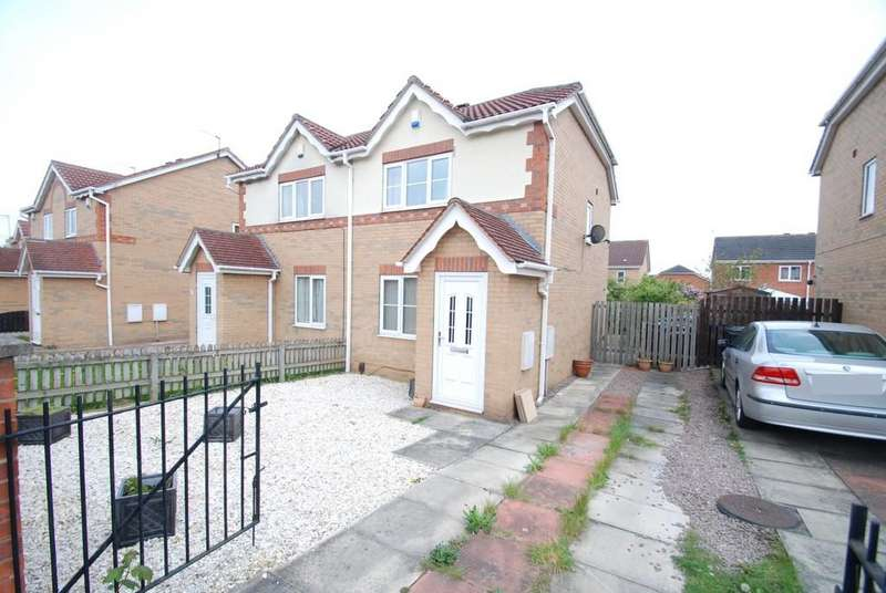 2 Bedrooms Semi Detached House for sale in Carr Furlong, Athersley North, Barnsley S71