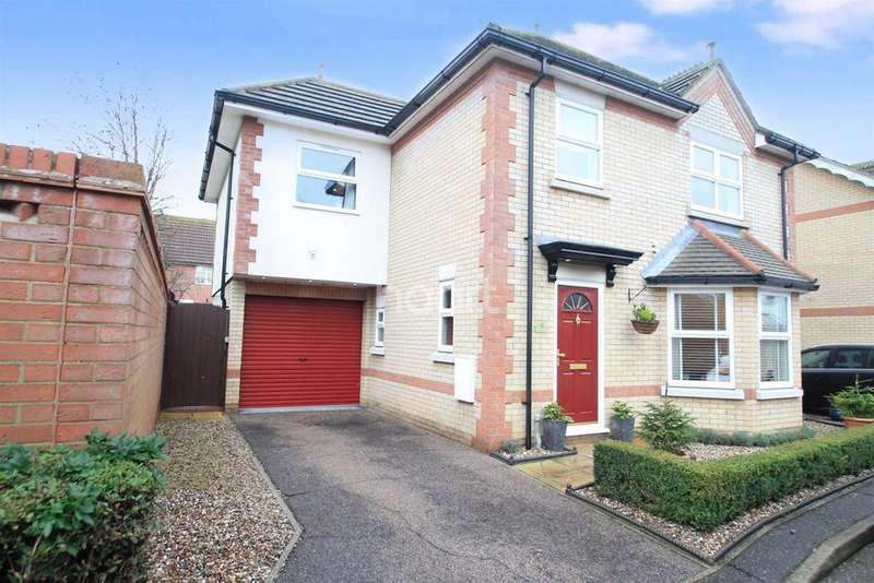 4 Bedrooms Detached House for sale in Wheatfields, Stambridge