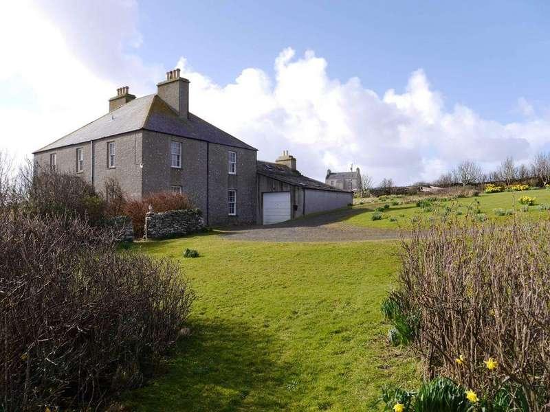 4 Bedrooms Detached House for sale in Glebelands, Longhope, Hoy