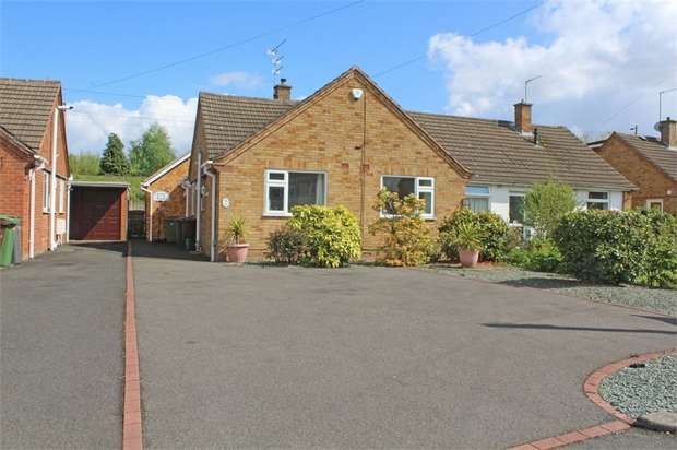 3 Bedrooms Semi Detached Bungalow for sale in Cricket Meadow, Wolverhampton, West Midlands