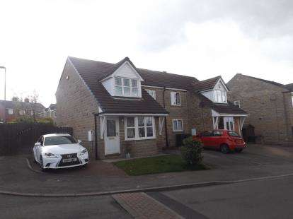 3 Bedrooms Semi Detached House for sale in Hawthorne Way, Shelley, Huddersfield, West Yorkshire