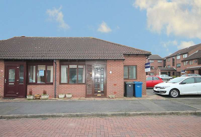 2 Bedrooms Semi Detached Bungalow for sale in Saxon Mill, Tamworth Town Centre, B79 7JD
