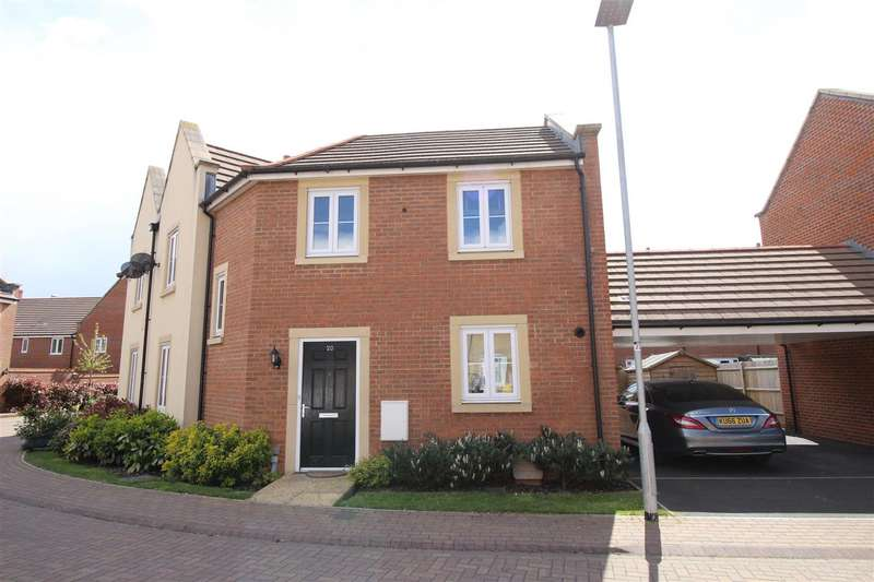 3 Bedrooms Property for sale in Selwood Close, The Sidings, Swindon